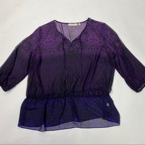 Sejour see thru tops size 16W (#11)